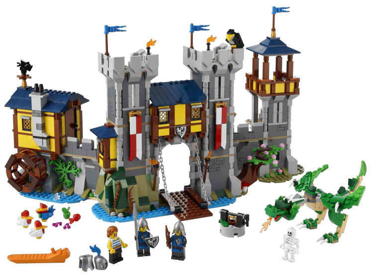 31120 Lego Creator - Средневековый замок