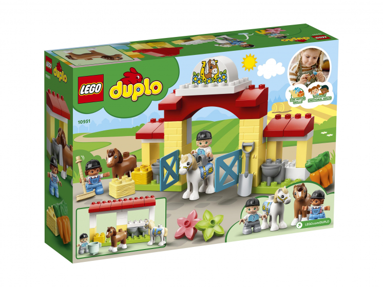 10951 Lego Duplo - Конюшня для лошади и пони