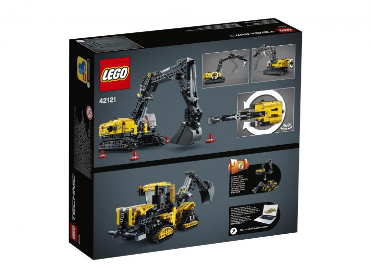 42121 Lego Technic - Тяжелый экскаватор