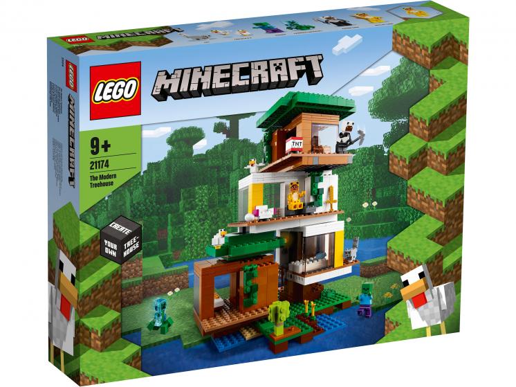 21174 Lego Minecraft - Современный домик на дереве
