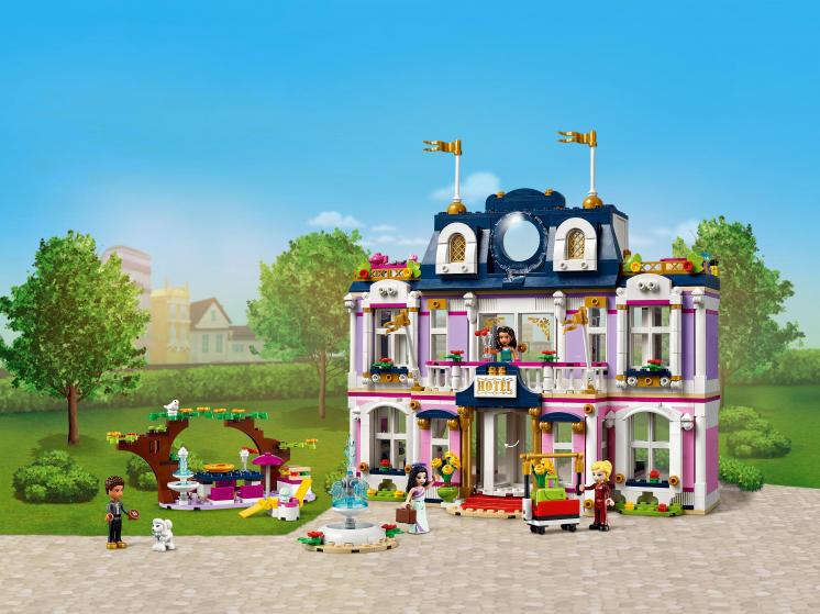 41684 Lego Friends - Гранд-отель Хартлейк Сити