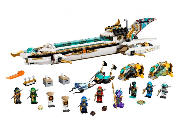 71756 Lego Ninjago - Подводный «Дар Судьбы»