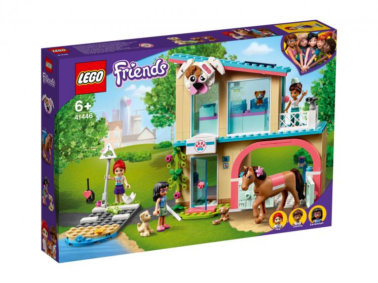 41446 Lego Friends - Ветеринарная клиника Хартлейк-Сити