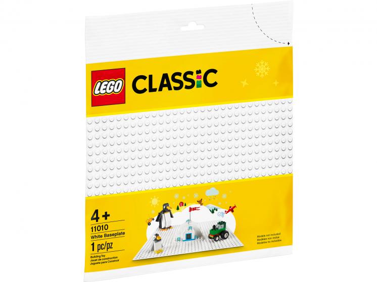 11010 Lego Classic - Белая базовая пластина