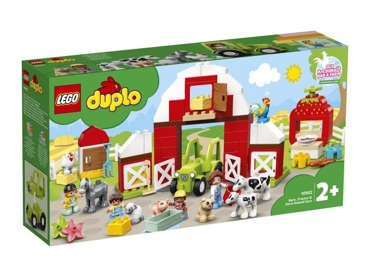 10952 Lego Duplo - Фермерский трактор, домик и животные