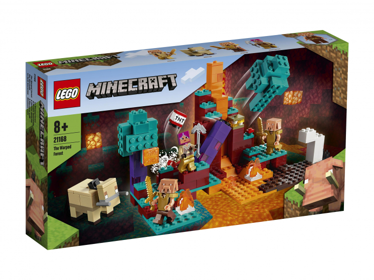 21168 Lego Minecraft - Искажённый лес