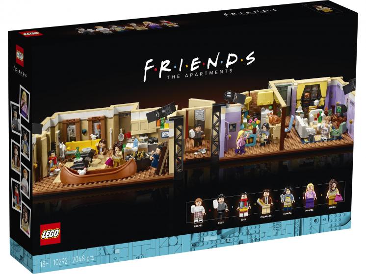 10292 Lego Creator Expert - Квартиры героев сериала «Друзья»