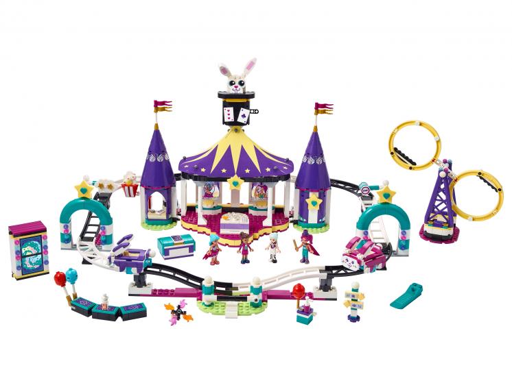 41685 Lego Friends - Американские горки на Волшебной ярмарке