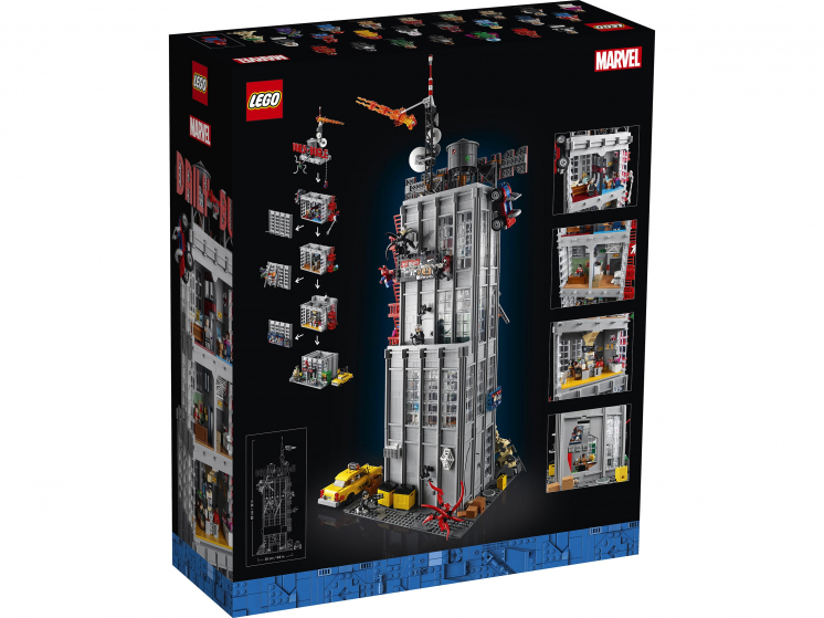 76178 Lego Marvel Super Heroes - Редакция «Дейли Бьюгл»