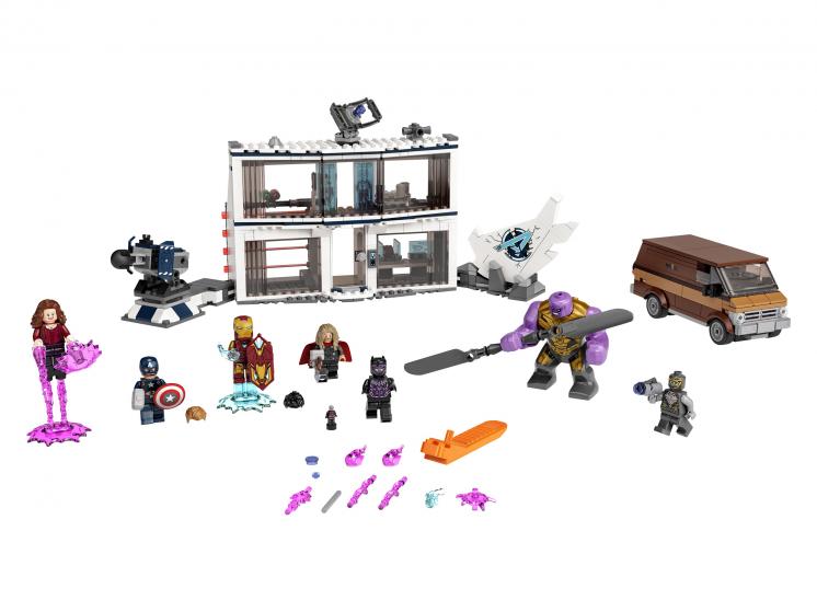 76192 Lego Marvel Super Heroes - «Мстители: Финал» — решающая битва
