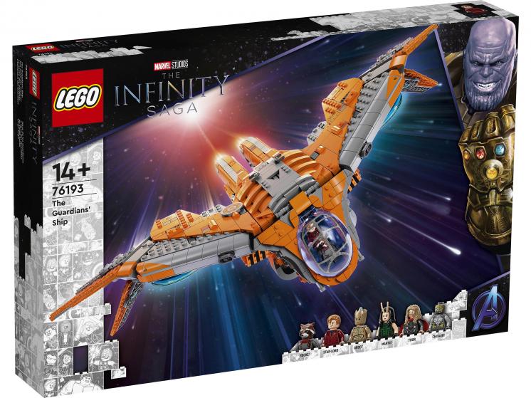76193 Lego Marvel Super Heroes - Корабль Стражей