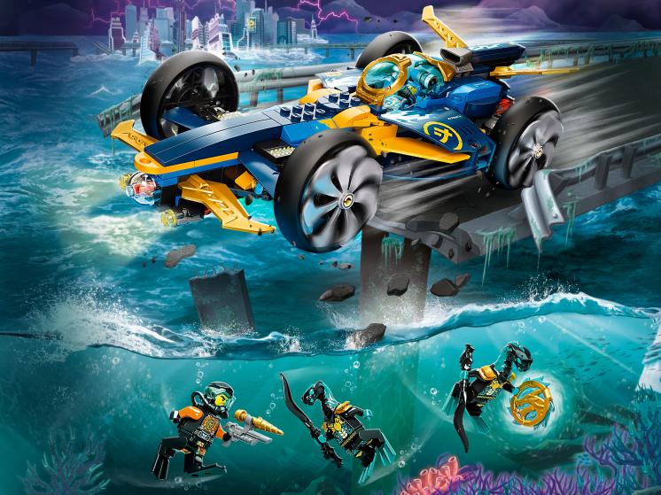 71752 Lego Ninjago - Спидер-амфибия ниндзя