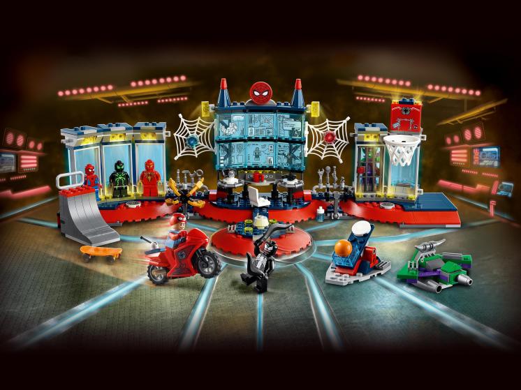 76175 Lego Marvel Super Heroes - Нападение на мастерскую паука