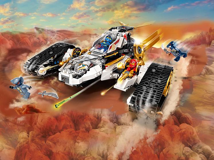 71739 Lego Ninjago - Сверхзвуковой самолёт