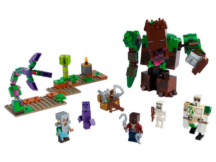 21176 Lego Minecraft - Мерзость из джунглей