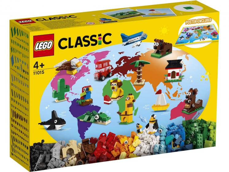 11015 Lego Classic - Вокруг света
