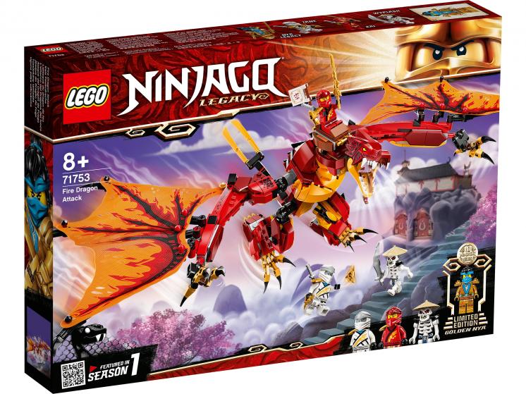 71753 Lego Ninjago - Атака огненного дракона